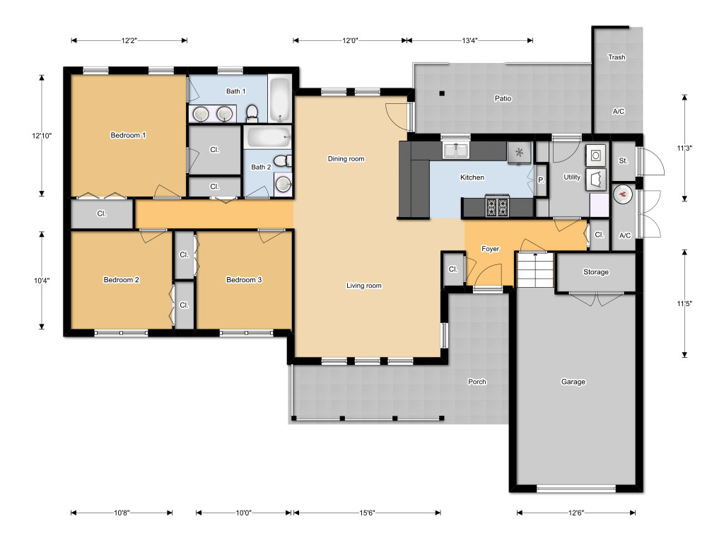 Floor planner joy studio design gallery best design for Home plan architect